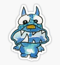 Funny Cartoon Monstar Monster 020 Sticker