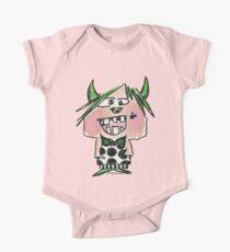 Funny Cartoon Monstar Monster 024 One Piece - Short Sleeve