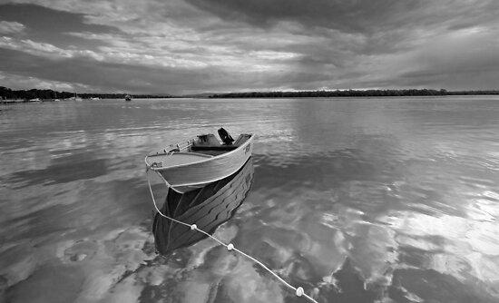 Floating on a Cloud - South Stradbroke Island by Beth  Wode