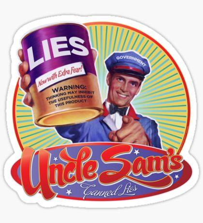 Government Lies Sticker
