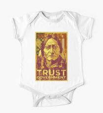 Trust The Government Sitting Bull One Piece - Short Sleeve