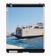 Proteus ferry docking, Alonissos iPad Case/Skin