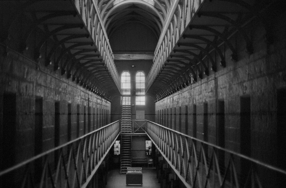 Old Melbourne Gaol by jacquelinekvz