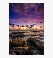 Sunset in Tel Aviv Photographic Print