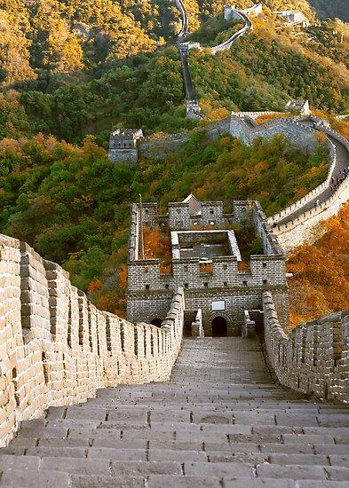 The Great Wall Series - at Mutianyu #10 by © Hany G. Jadaa © Prince John Photography