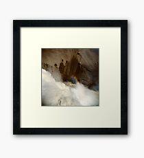 Holga falls Framed Print