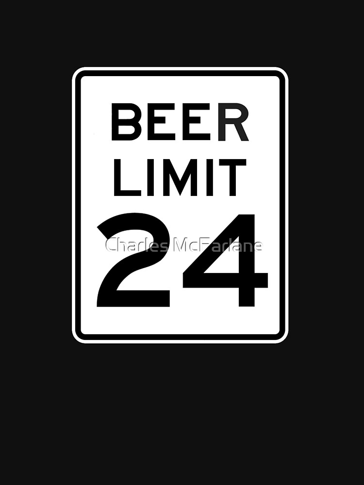 BEER LIMIT 24 by ChipMcFarlane