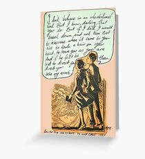 into my arms Greeting Card