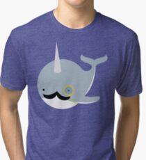 Sir Narwhal Tri-blend T-Shirt