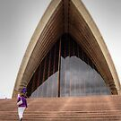 Opera House Stairs # 3 by Eve Parry