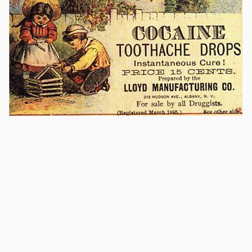 Cocaine Tooth Drops by halo13del