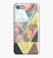 Abstract Triangles Nordic Minimal Design  iPhone Case/Skin