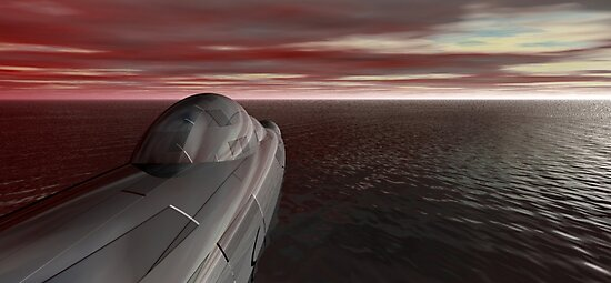 Yhevhe Stealth Submarine (II of II) by XadrikXu