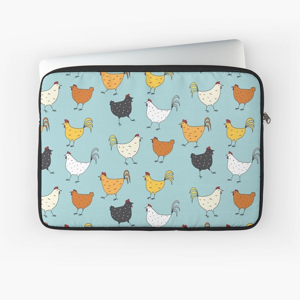 Chicken Pattern Laptop Sleeve