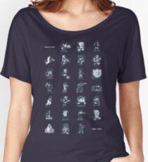 A - Z of 8-bit video games Women's Relaxed Fit T-Shirt
