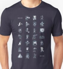 A - Z of 8-bit video games T-Shirt
