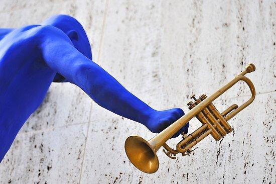 Blue Man by Kasia Nowak