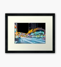 Dizengoff Center Tel Aviv Framed Print