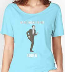 Up all night to get Loki'd Women's Relaxed Fit T-Shirt
