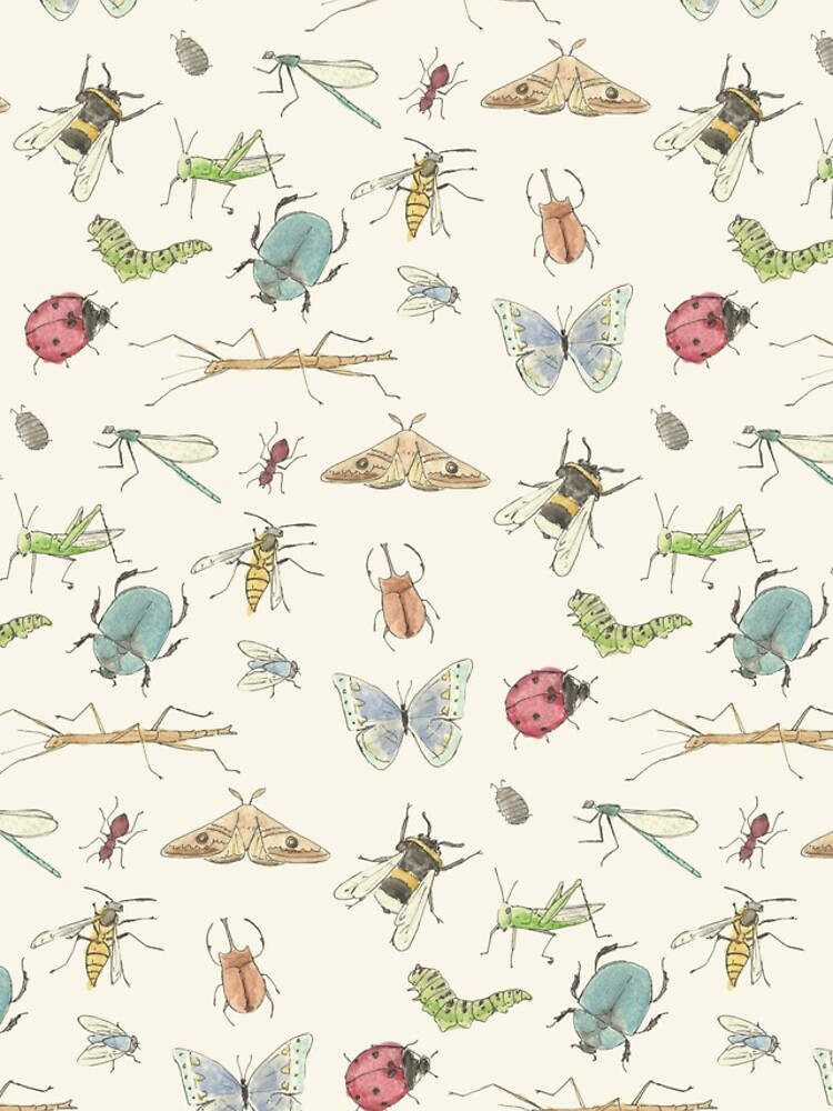 Patrón de insectos de lhollyberry