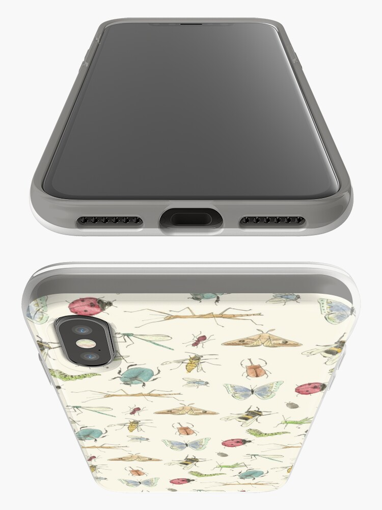 Vista alternativa de Funda y vinilo para iPhone Patrón de insectos