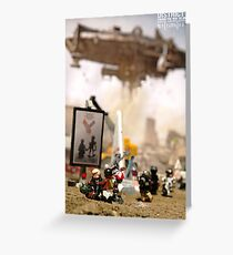"""DISTRICT 9 """"Paving the way to unity"""" poster Greeting Card"""