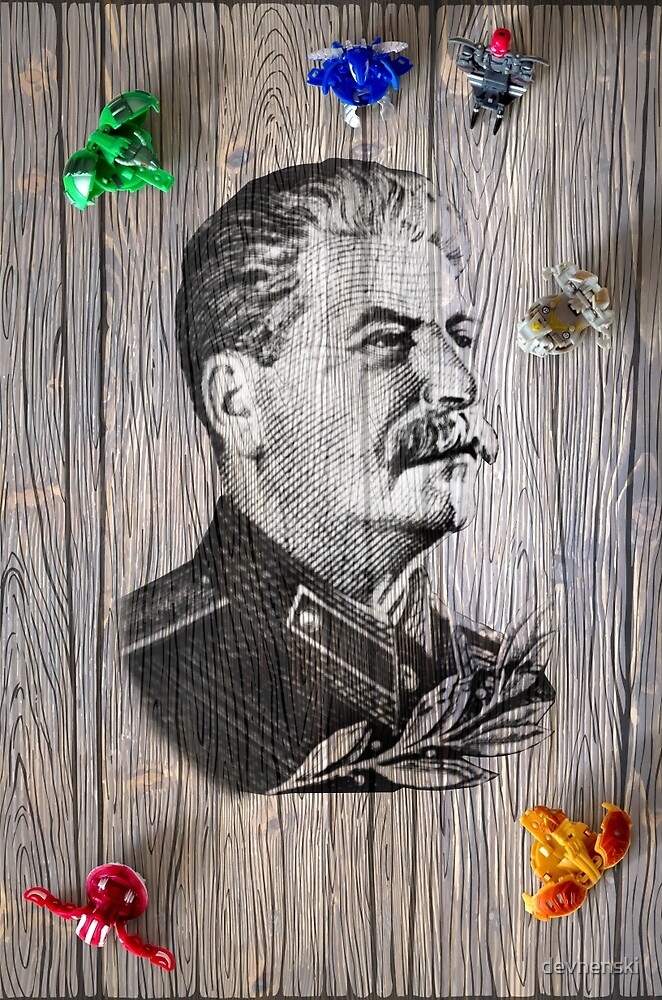 Portrait Of Joseph Stalin by devnenski