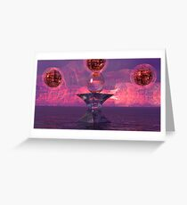 Spheres  of Creation Greeting Card