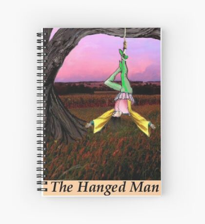 THE HANGED MAN Spiral Notebook