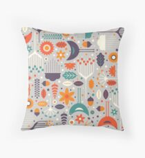 Flora & Fauna Throw Pillow