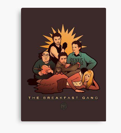 The Breakfast Gang Canvas Print