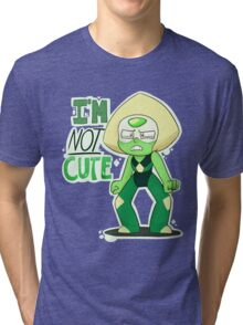 I'M NOT CUTE Tri-blend T-Shirt