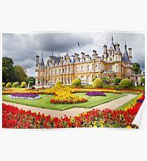 National Trust Waddesdon Manor House Poster