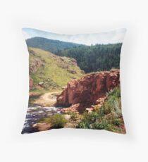 Cripple Creek Colorado Throw Pillow