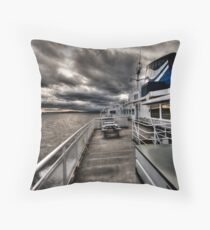 No Hands on Deck Throw Pillow