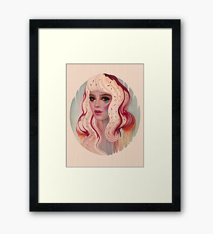 à La Mode Framed Print