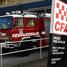 Drouin Fire Brigade on the move by Bev Pascoe