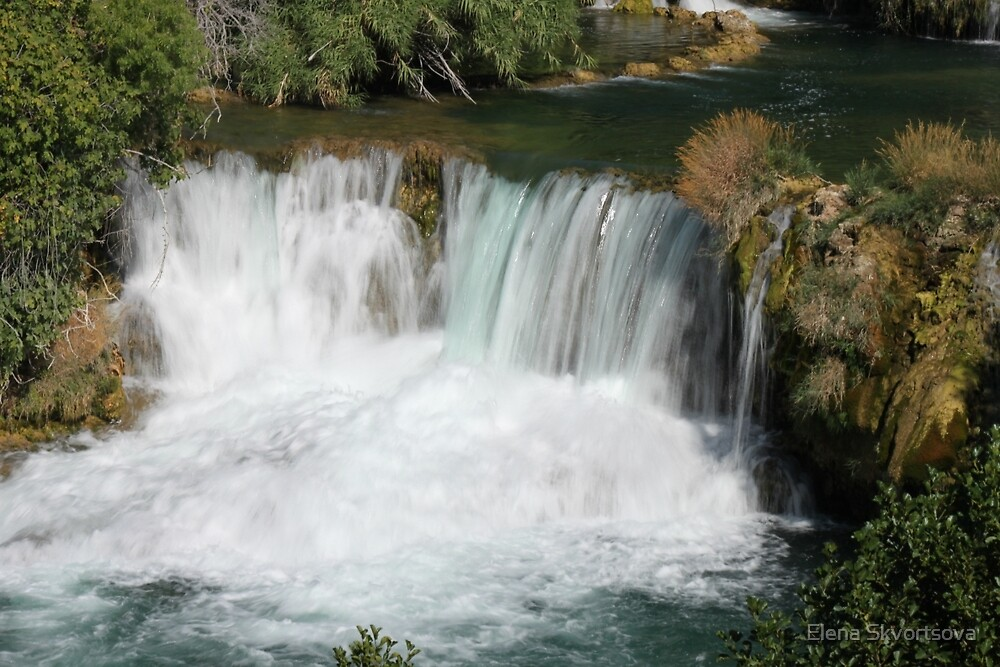 Krka waterfalls by Elena Skvortsova