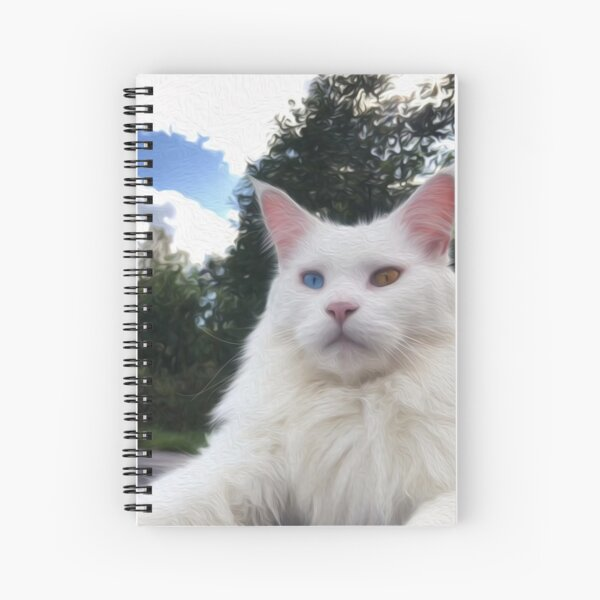 The Gentle Giant Spiral Notebook