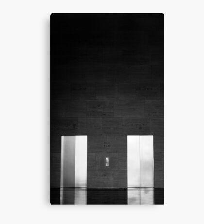 Elevator Doors Canvas Print
