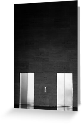 Elevator Doors by Jonathan Russell