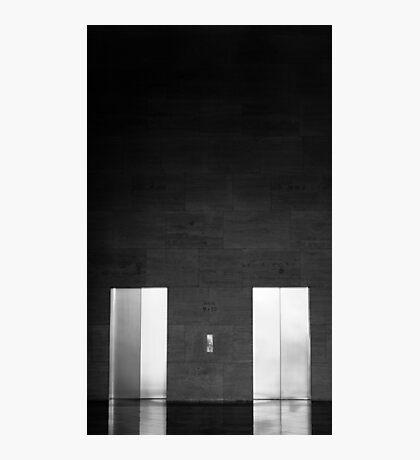 Elevator Doors Photographic Print