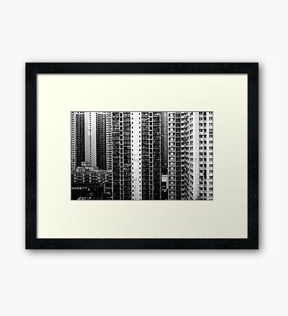 Stark, Hong Kong Framed Print