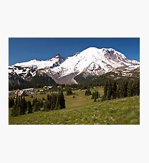 Mt. Rainier from Sunrise Visiting Area Photographic Print