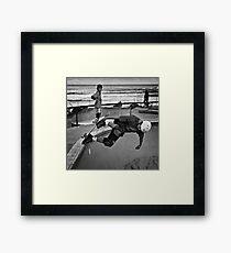 Bondi Beach Moves Framed Print