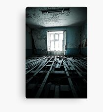 Stripped Canvas Print