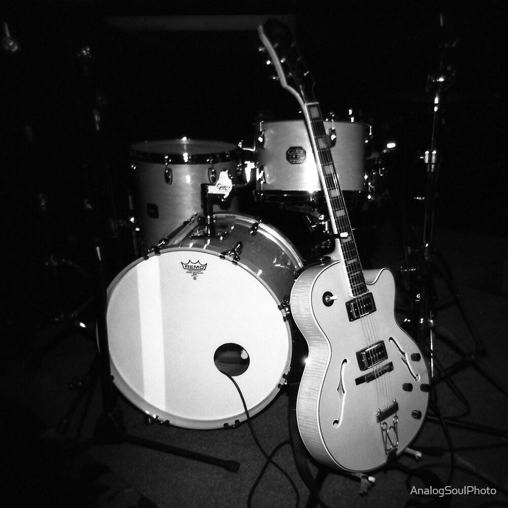 JP Soars' Guitar & Drum Kit by AnalogSoulPhoto