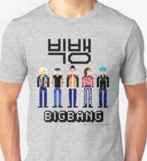 BIGBANG Pixel People Big Bang kpop T-Shirt
