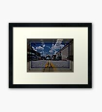 """ Invasion Earth "" Framed Print"