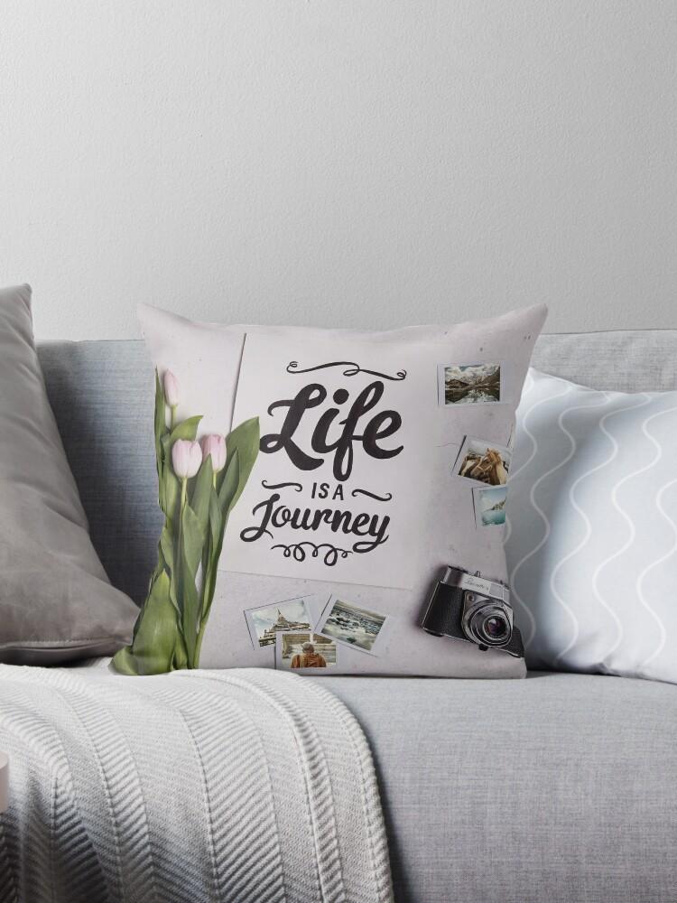Life ist a journey by madebyrina